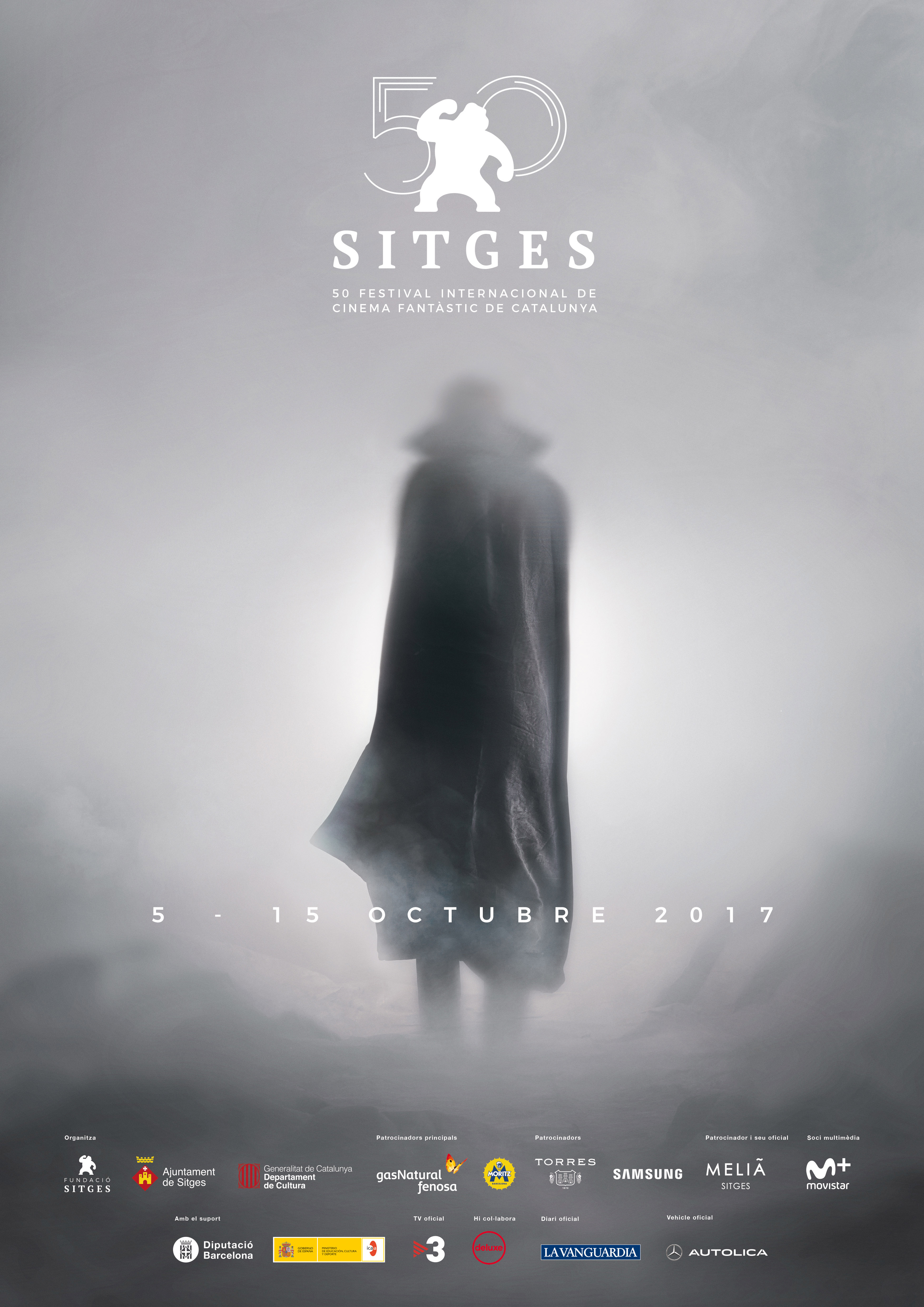 The Dracula figure is featured at the Sitges Film Festival's 50th  anniversary